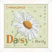 Daisy (USJ004) - Cross Stitch Pattern