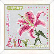 Lily (USJ005)- Cross Stitch Pattern