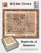 Squirrels of Sumatra - Cross Stitch Pattern