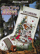 Little Tree of Hope Stocking - Cross Stitch Pattern