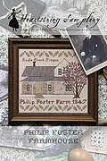 Philip Foster Farmhouse - Cross Stitch Pattern