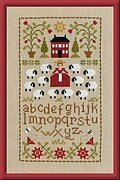 Compagnie de Moutons- Cross Stitch Pattern