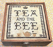 Tea and the Bee - Cross Stitch Pattern