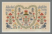 New Antique Sampler - Cross Stitch Pattern