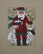 2019 Schooler Santa - Cross Stitch Pattern
