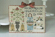 Douceur Printaniere - Cross Stitch Pattern