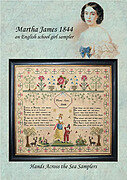 Martha James 1844 - Cross Stitch Pattern