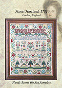 Hariet Harland 1782 - Cross Stitch Pattern