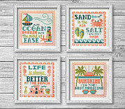 Summer Signs - Cross Stitch Pattern