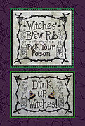Witches' Brew Pub - Cross Stitch Pattern