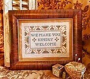 Kindly Welcome - Cross Stitch Pattern