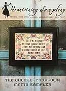 Choose Your Own Motto Sampler - Cross Stitch Pattern