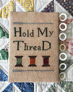 Hold My Thread - Cross Stitch Pattern