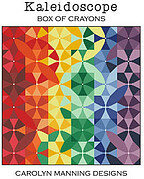 Box of Crayons - Kaleidoscope - Cross Stitch Pattern
