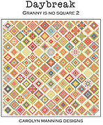 Daybreak Granny is No Square 2 - Cross Stitch Pattern