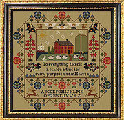 Amity Manor - Cross Stitch Pattern