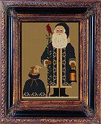 Twin Peak Santa 2019 - Cross Stitch Pattern