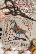 Sew Together #3 Scissors & Threads - Cross Stitch Pattern