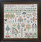 Bramley Garden - Cross Stitch Pattern