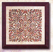 Henna Mandala - Cross Stitch Pattern