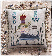Sewing Mermaid - Cross Stitch Pattern