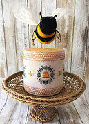 Bee Skep Drumroll - Cross Stitch Pattern
