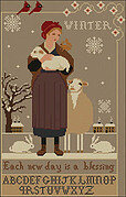 Winter Blessing - Cross Stitch Pattern