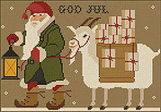Christmas Tomten - Cross Stitch Pattern