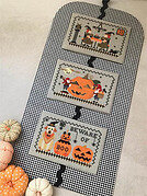 Very Scary Halloween Mini Series - Cross Stitch Pattern