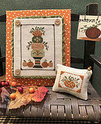 Pumpkin Topiary - Cross Stitch Pattern