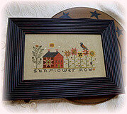 Sunflower Row - Cross Stitch Pattern