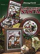 Backwoods Santa - Cross Stitch Pattern