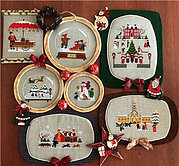 Hawthornville Christmas Book 1 - Cross Stitch Pattern