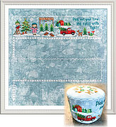 Christmas Village Part 1 (Tree Farm) - Cross Stitch Pattern