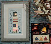 One if By Sea - Cross Stitch Pattern