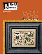 Owl Sings - Cross Stitch Pattern