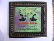 Witches Brew For U - Cross Stitch Pattern