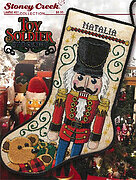 Toy Soldier Stocking - Cross Stitch Pattern