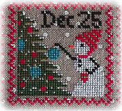 Snowy 9 Patch - Part 8 - Cross Stitch Pattern