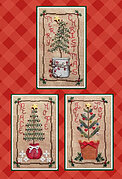 Christmas Tree Trio - Cross Stitch Pattern