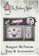Margret McNowns Tray & Accessories - Cross Stitch Pattern