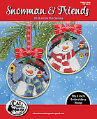 Snowman & Friends 1 & 2 - Cross Stitch Pattern