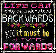 Words to Live By Part 10 - Cross Stitch Pattern