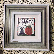 October Squared - Cross Stitch Pattern