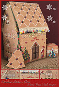 Christmas Stitcher's Home - Cross Stitch Pattern