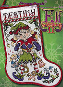 Elf Stocking II - Cross Stitch Pattern