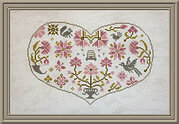 Qua Coeur - Cross Stitch Pattern