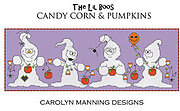 Candy Corn & Pumpkins - Cross Stitch Pattern