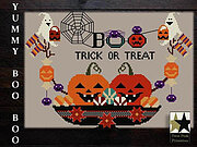 Yummy Boo Boo - Cross Stitch Pattern