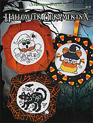 Halloween Ornaments X - Cross Stitch Pattern